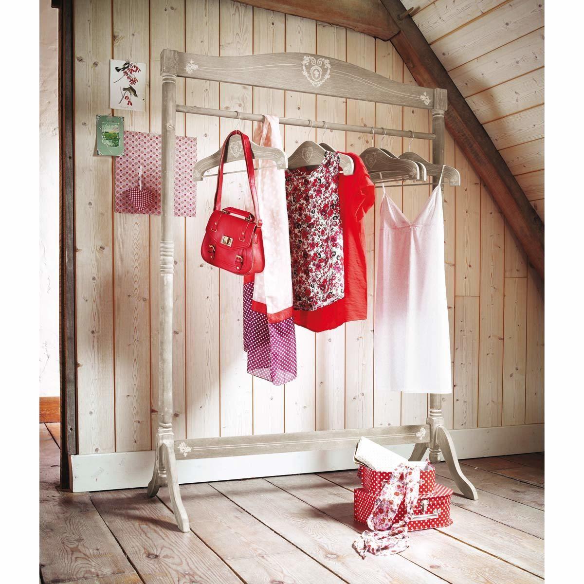 Portant en bois Camille | deco maison | Pinterest