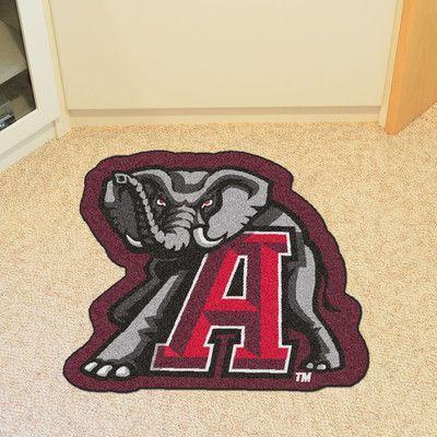 Fanmats Ncaa University Of Alabama Mascot 40 In X 30 In Non Slip Indoor Only Mat Wayfair Alabama Mascot Crimson Tide Mascot Crimson Tide Decor
