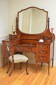 promo code 802a7 4f298 Edwardian Dressing Table By Maple Co - Antiques Atlas ...