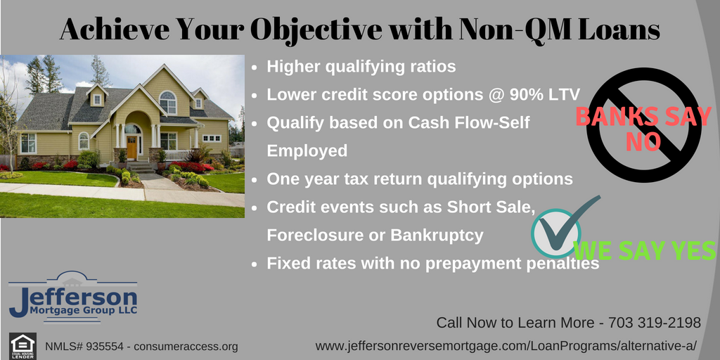 We Offer Non Qm Loans To Help Borrowers Who May Not Meet