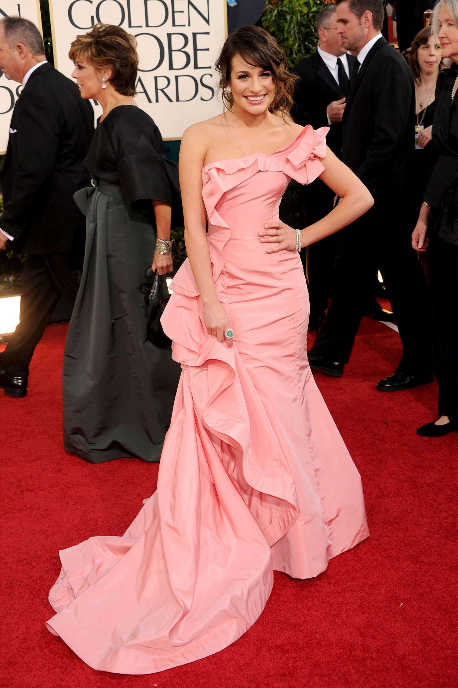 Oscar De La Renta Dresses Celebrities