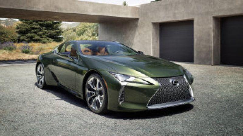 2020 Lexus Lc 500 Inspiration Limited Edition Is Resplendent In Green Lexus Lc Lexus Lexus Lfa