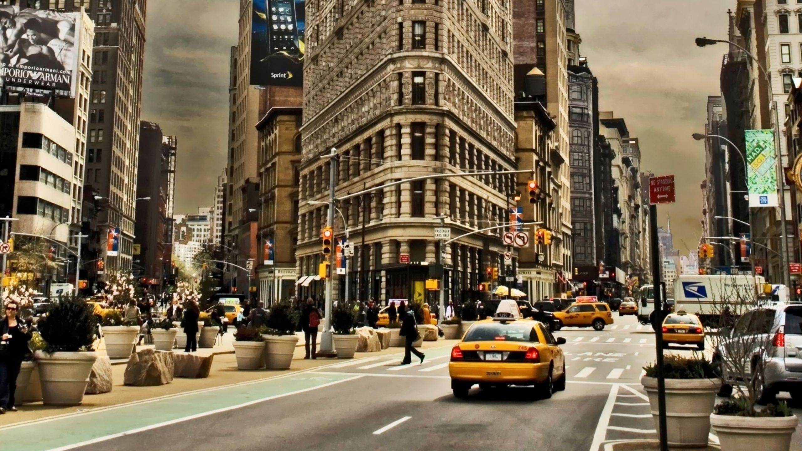 Afternoon On Manhattan City Imac Wallpaper Hd Wallpapers Source New York Wallpaper New York City Buildings New York City Photos