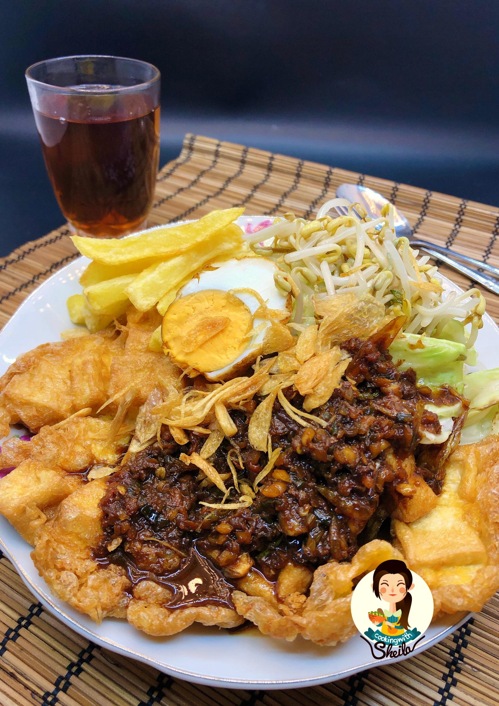 Lontong Tahu Telur Resep Makanan Makanan Resep Masakan Indonesia