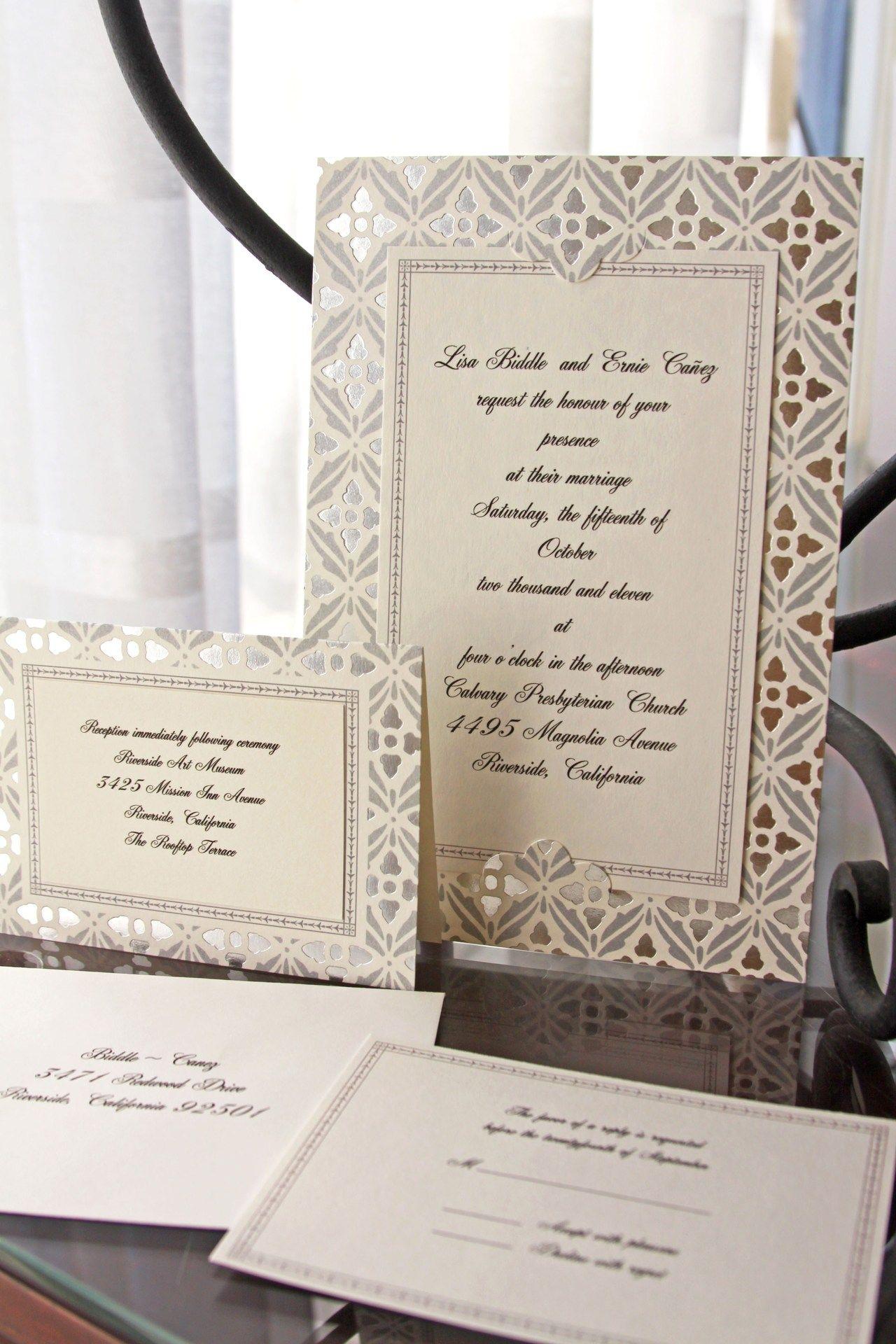 Invitation Suite from Michaels - DIY | Killoran\'s Wedding ...