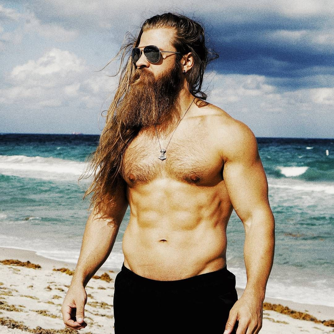 swolenormous Long hair beard, Hair and beard styles