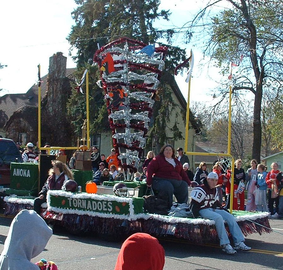 Float Props: A Tornado Of Opponents! Homecoming Parade Float Ideas