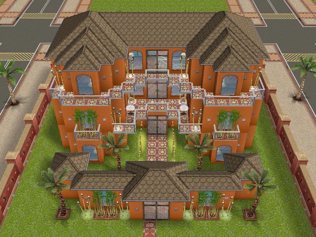 12 idées de Sims FreePlay   sims, maison sims, maison