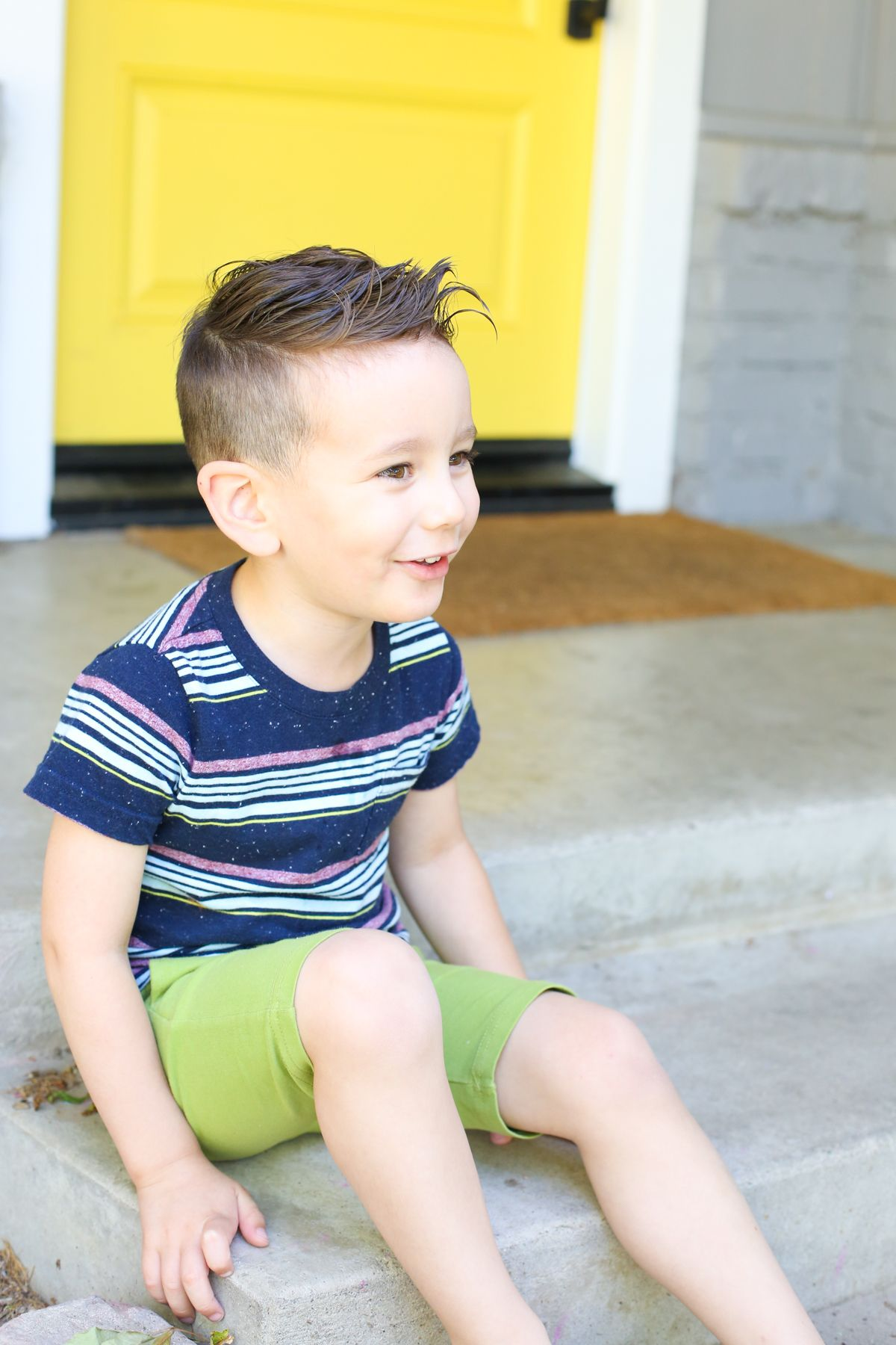 How To Give A Toddler A Haircut Baby And Kid Style Pinterest