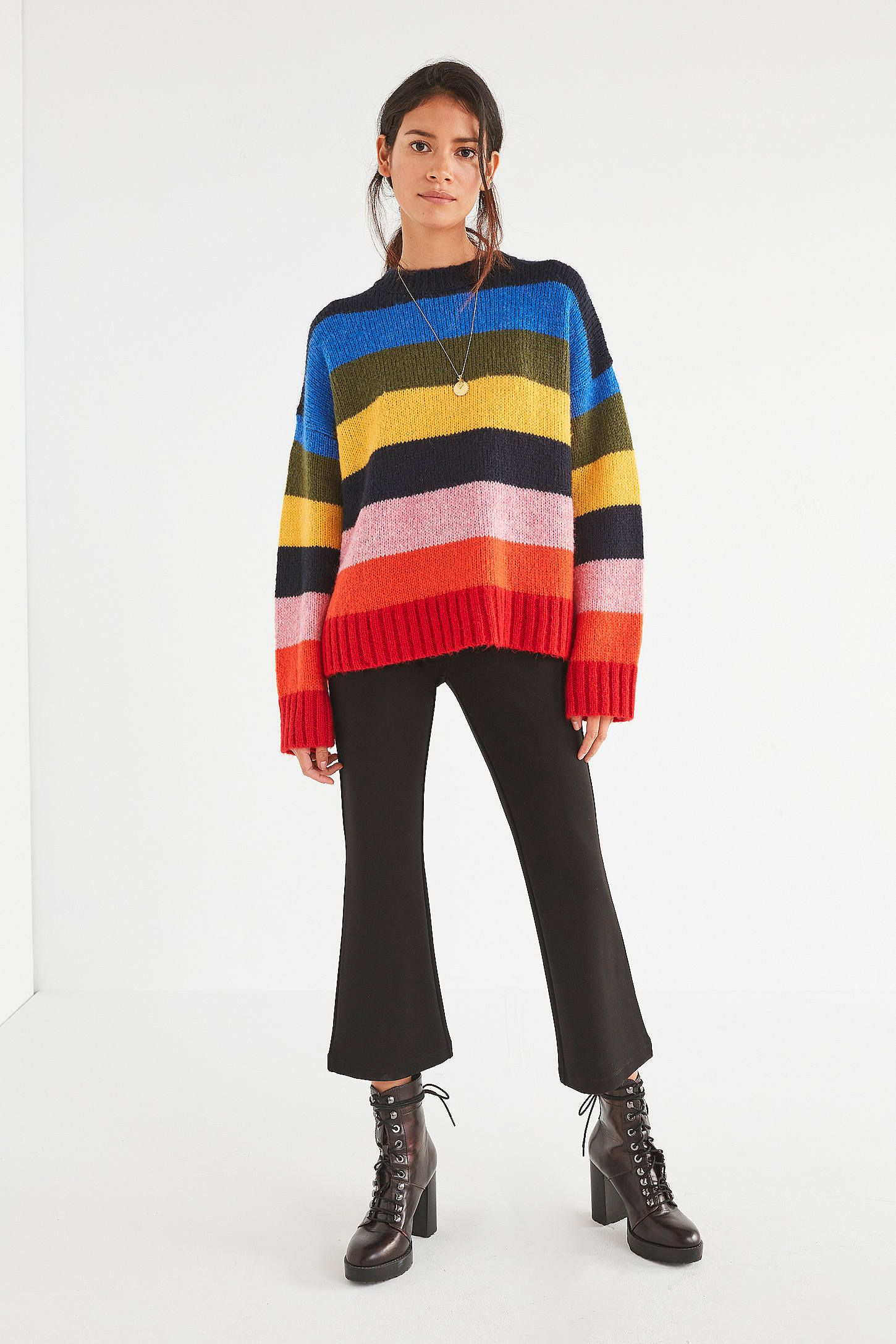 c860843a96 Shop UO Kari Oversized Striped Sweater at Urban Outfitters today. We carry  all the latest styles