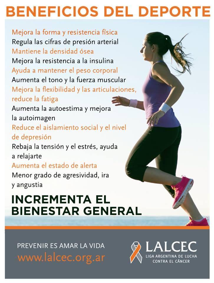 Beneficios Del Deporte Beneficios De Hacer Ejercicio Ejercicios De Educacion Fisica Actividad Fisica Y Salud