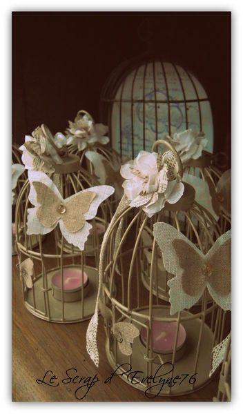 d co cage oiseau bougie table romantique pinterest. Black Bedroom Furniture Sets. Home Design Ideas