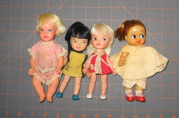 Vintage Doll Lot  Baby Cheerful Tearful by by NewEnglandYesterdays