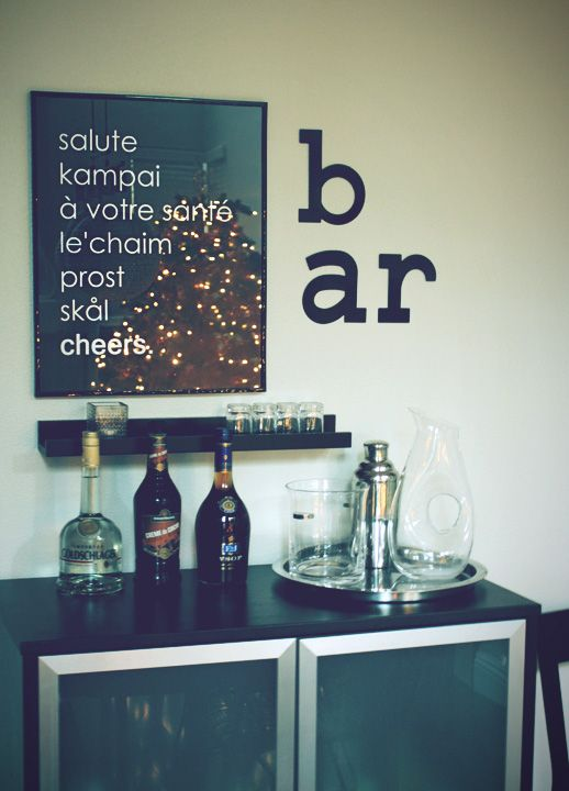 12 Best Bar Cart Ideas - How To Make Diy Custom Bar Cart | Dream ...