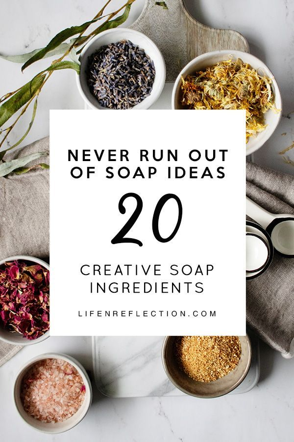 20 Natural Soap Making Ingredients You Haven't Thought Of