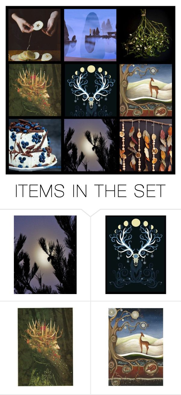 """""""Winter Solstice"""" by pheinart ❤ liked on Polyvore featuring art"""