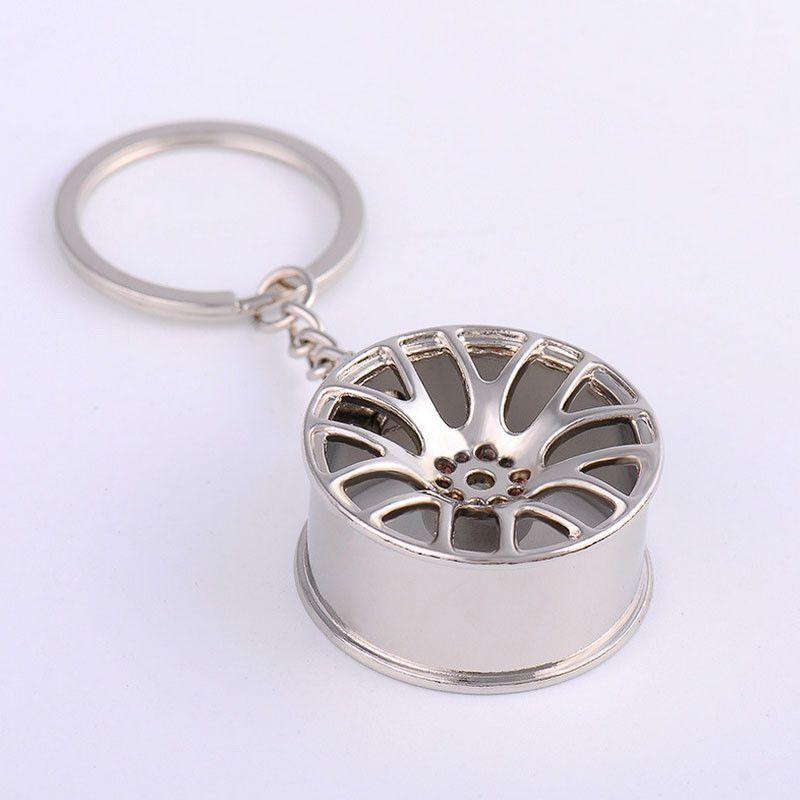Wheel Rim Model Key Chain