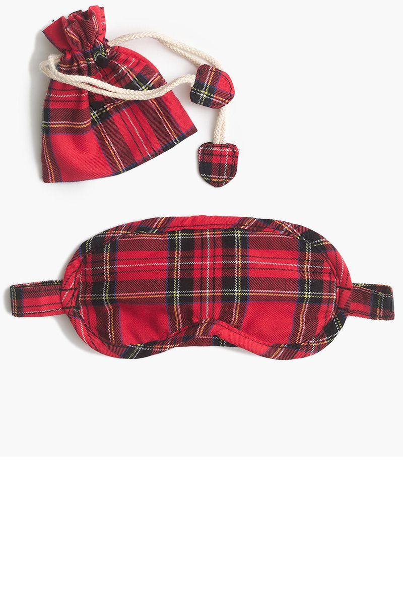 J. Crew travel sleep mask, $19.50, jcrew.com.   - HarpersBAZAAR.com