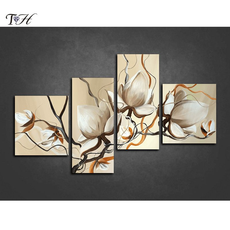 0ed0de0fac 5D DIY diamond painting crystal magnolia multi-pictures cross stitch  patterns embroidery diamond mosaic pictures flower stickers