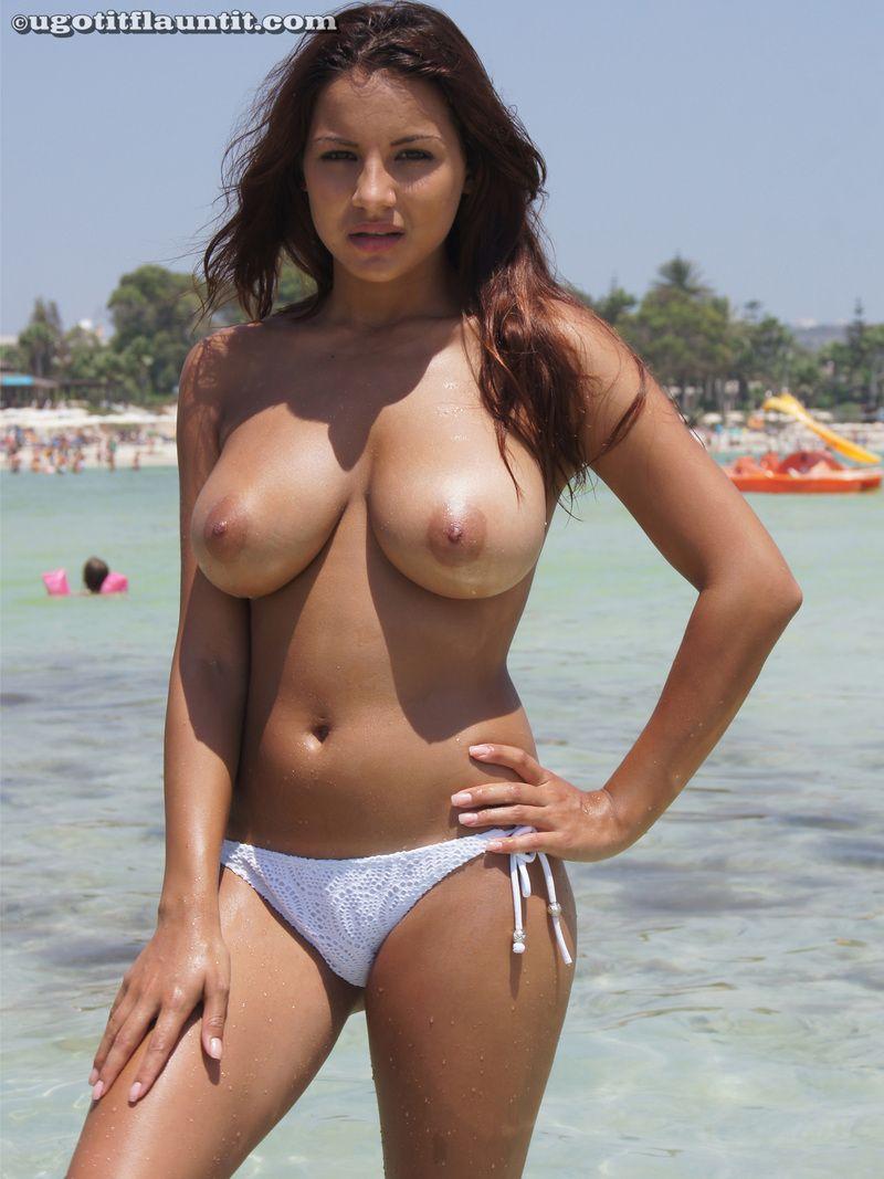 Bikini nipples boobs