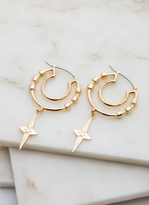 Bring your outfits to life with these unique hoops! - Statement hoop ...