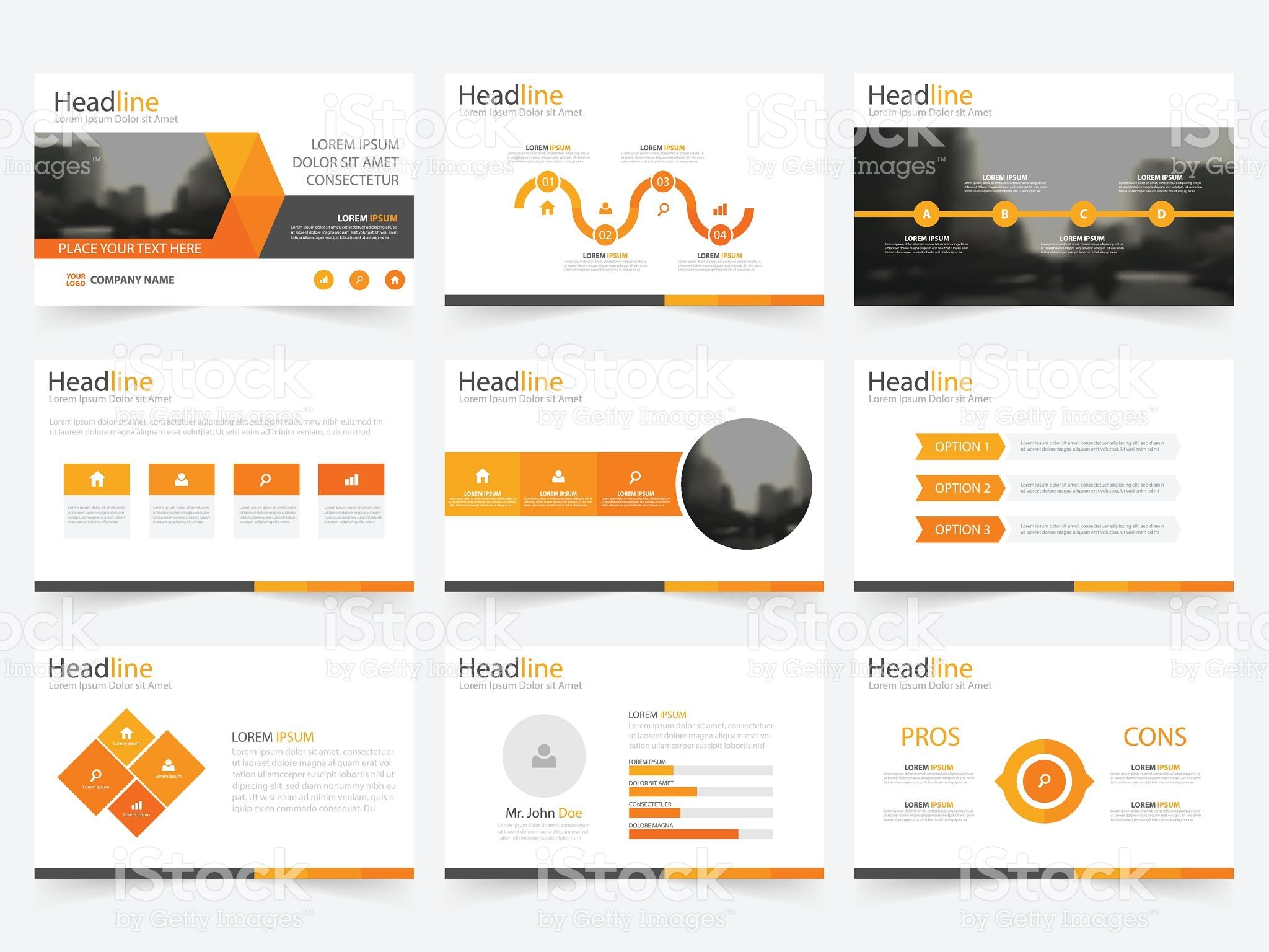 Presentation Template  Design  Brand  Identity