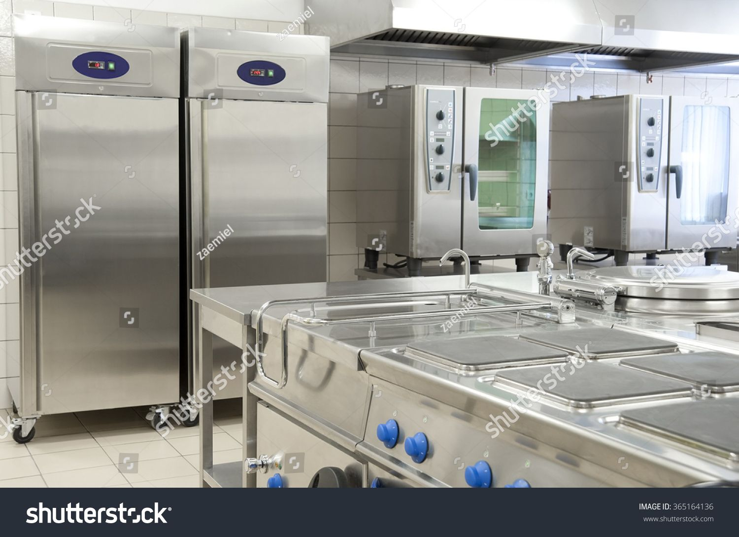Empty Restaurant Kitchen With Professional Equipment Royalty Free Image Photo In 2020 Restaurant Kitchen Commercial Kitchen Restaurant Kitchen Equipment