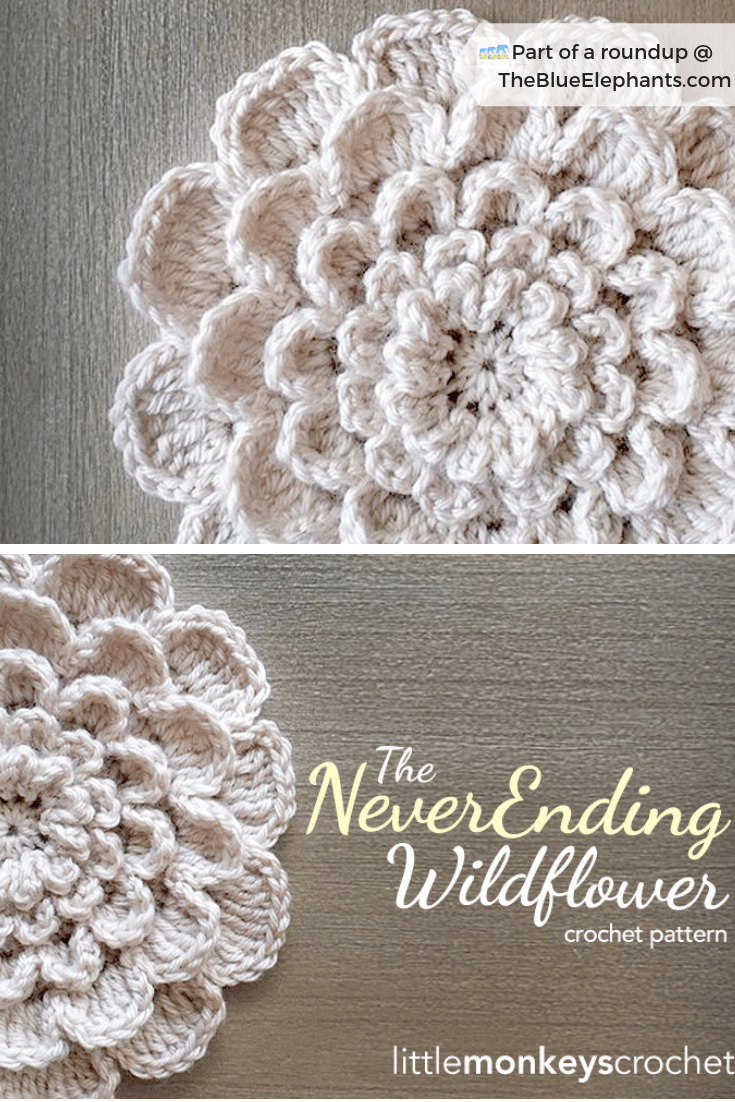 20 Free Patterns for Crochet Flowers & What to Do with Them #crochetflowerpatterns