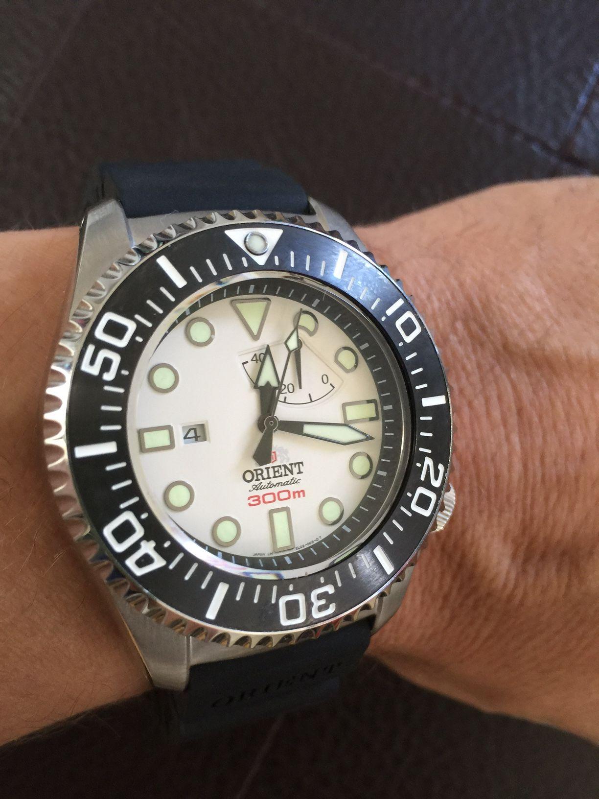 The 300m Pro Saturation Diver! orientwatchusa.com/el02003w