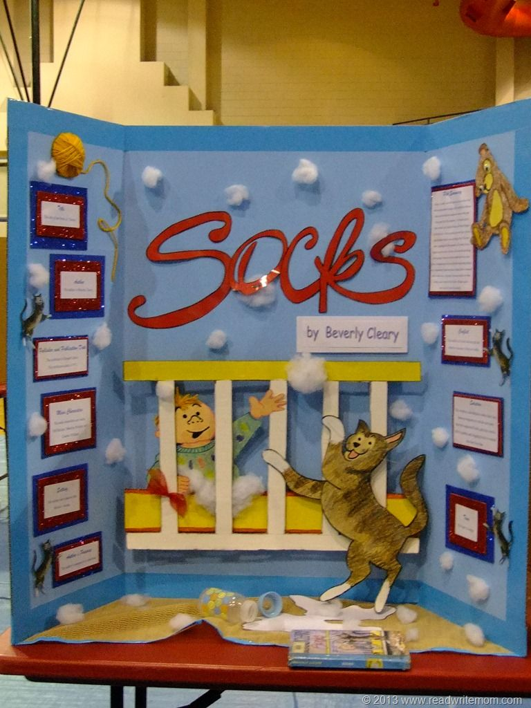 Reading fair - like a science fair, but with books! I would love ... for Cool Poster Ideas For School Projects  54lyp