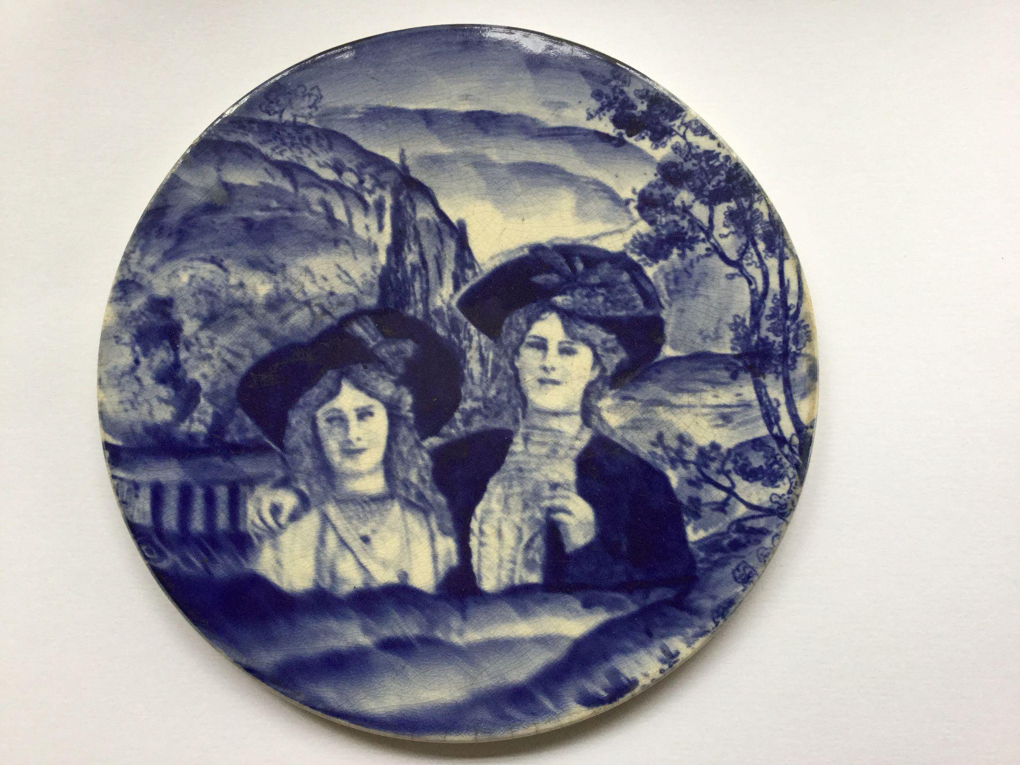 Staffordshire plaque
