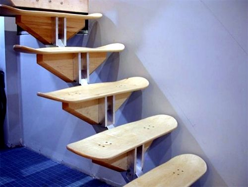 innovative furniture ideas. ideas for upcycled furniture design skateboard parts innovative i