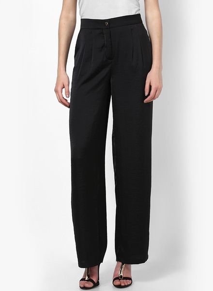 Buy Vero Moda Black Trouser for Women Online India, Best Prices, Reviews    VE693WA98PIJINDFAS