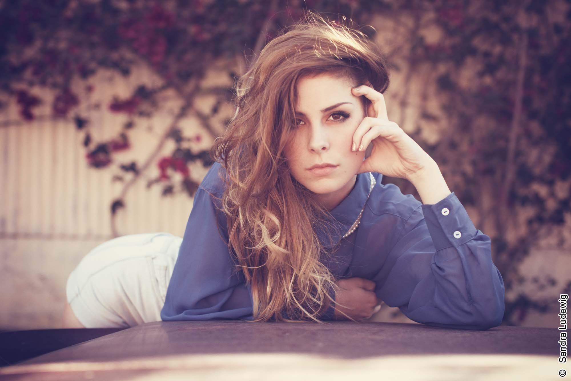 Women Lena Meyer Landrut Brunette Eyes Face Singer