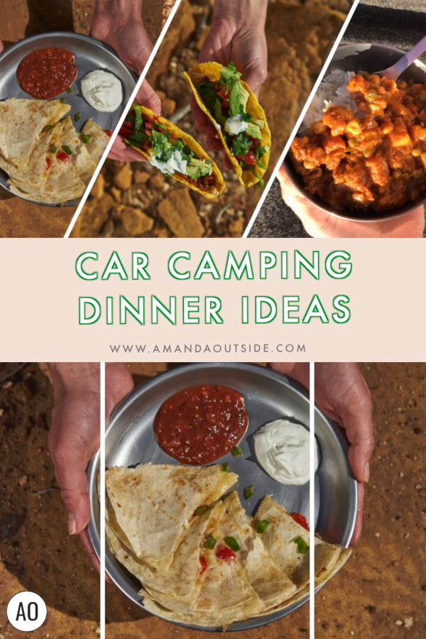 Photo of 3 EASY Car Camping Dinner Ideas!