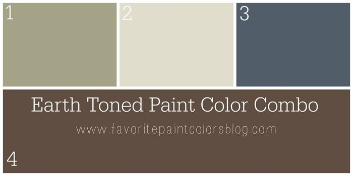 Earth Toned Paint Color Combination Favorite Paint Colors Colors Paint Colors Favorite