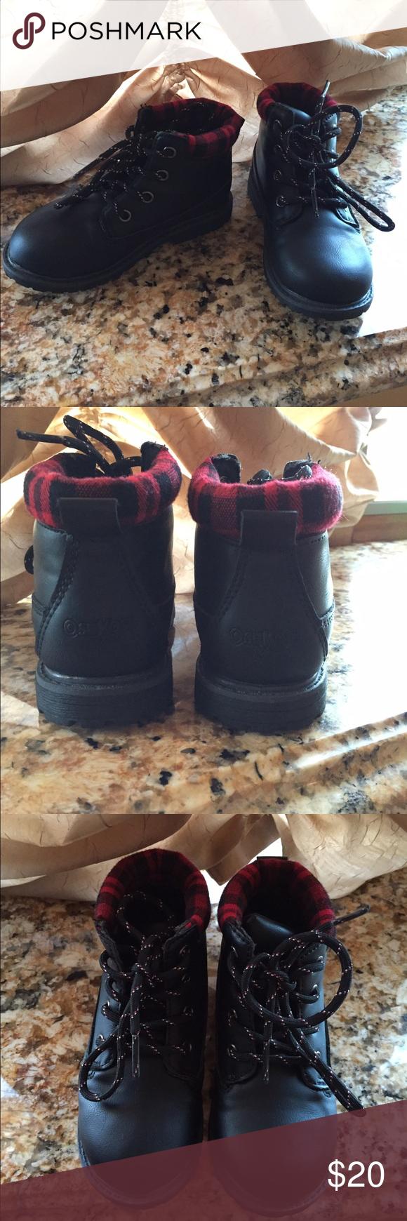 Oshkosh Braxton-B Boot Great winter boot, size 9 toddler boys never worn!! Osh Kosh Shoes Boots