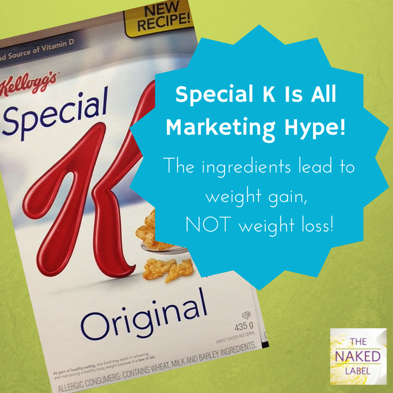 Have you heard of the Special K diet? They claim this product helps you lose weight but is it all marketing hype? In fact, this product PROMOTES weight gain. Get the facts here: http://bit.ly/1EJYdoF  #cereal #breakfast #diet #weightloss #fatloss #dietfood #specialK #healthycereal
