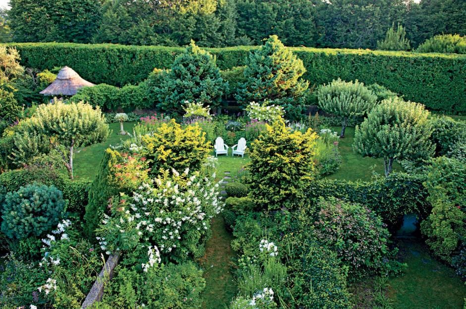 Grey Gardens, the once overgrown estate portrayed in the