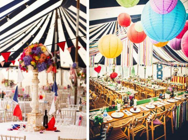 Razzle Dazzle Them 24 Circus Themed Wedding Inspirations Via Brit Co