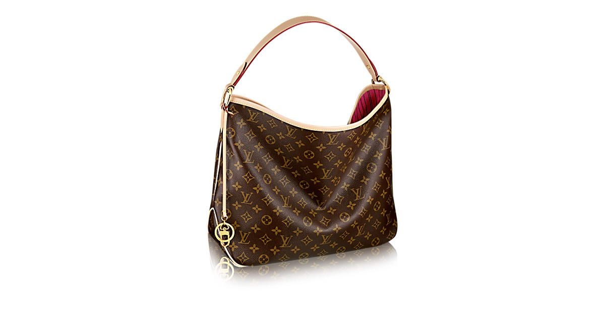 Discover Louis Vuitton Delightful Mm The Monogram Embos Everyday Elegance In Supple