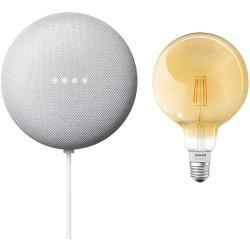 Google Nest Mini & Osram Smart+ Set 19 (Rock Candy)Bauhaus.info #googlehomemini
