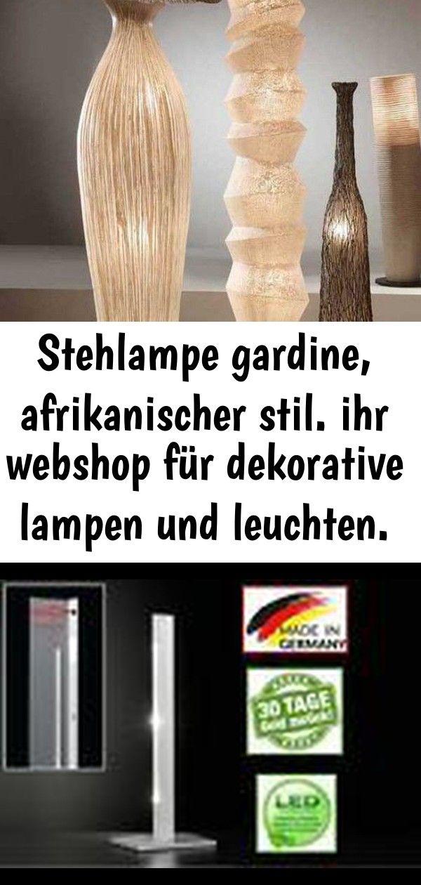Stehlampe gardine, afrikanischer stil. ihr webshop für dekorative lampen und leuchten. 4 #afrikanischerstil