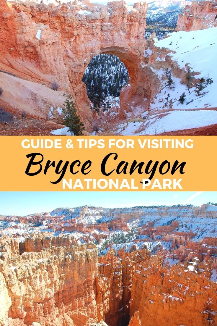 Tips for Visiting Bryce Canyon National Park #usatravel