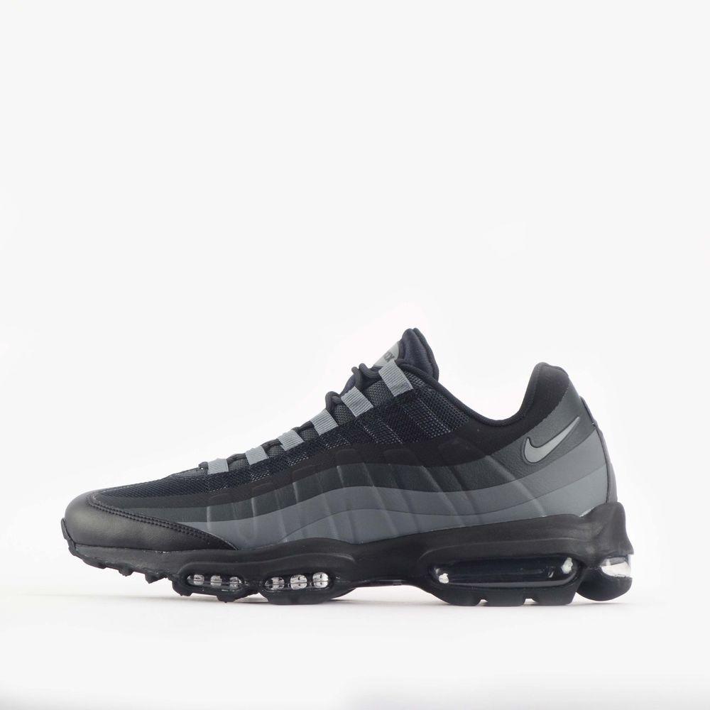 Nike Air Max 95 Ultra JCRD Jacquard White Wolf Grey Dark 749771 100 Men's 11