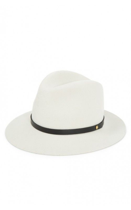 17ec362d2a @ragandboneny revamps the classic fedora style with their simple yet edgy  Floppy Brim Fedora (