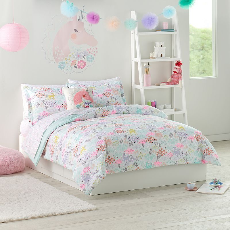 Jumping Beans Enchanted Garden Bedding Set Bed For Girls