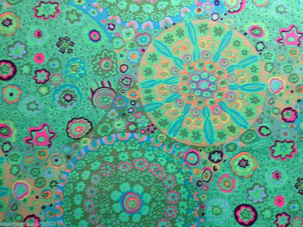 Peacock 100/% cotton fabric Patchwork Quilting KAFFE FASSETT COLLECTIVE  Spot