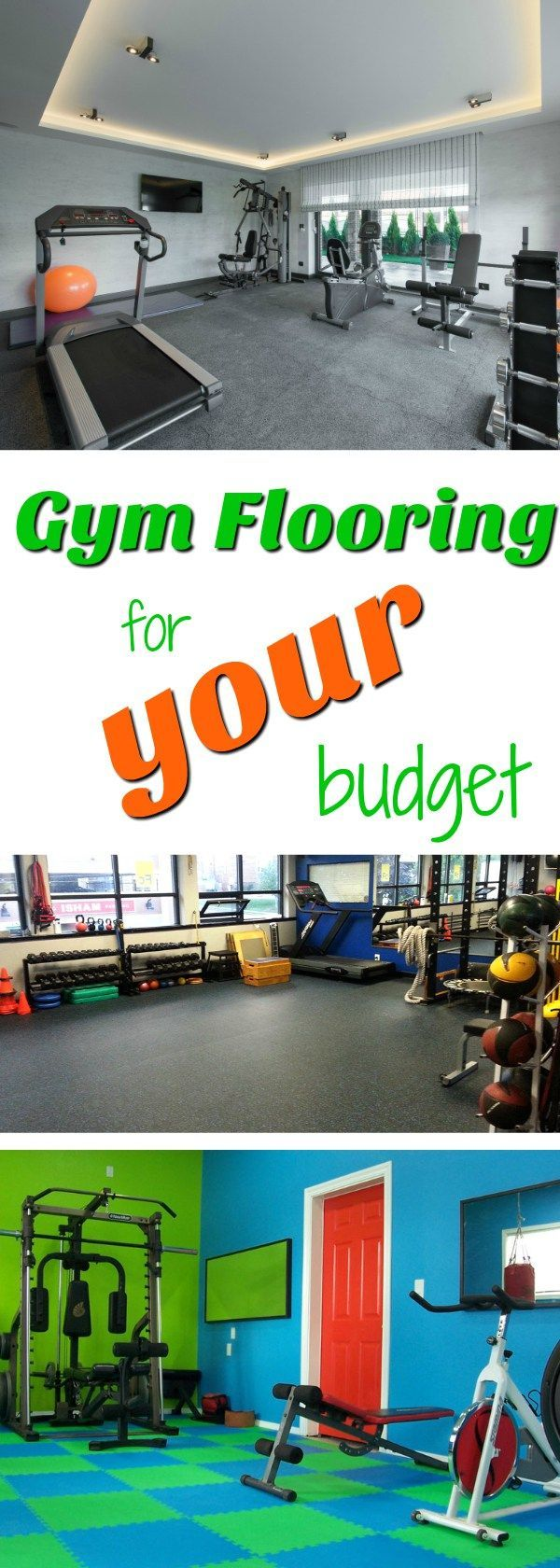 Home Gym Flooring For Your Budget