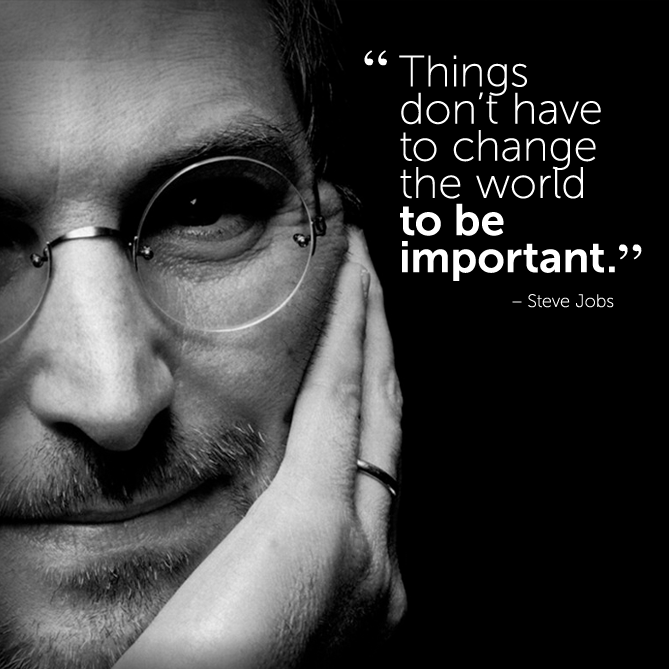 Inspirational Quotes On Pinterest: #motivational #inspirational #quote By Steve Jobs